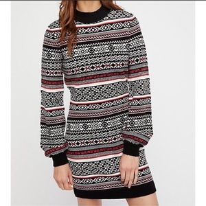 Free People By the Fire Sweater Dress
